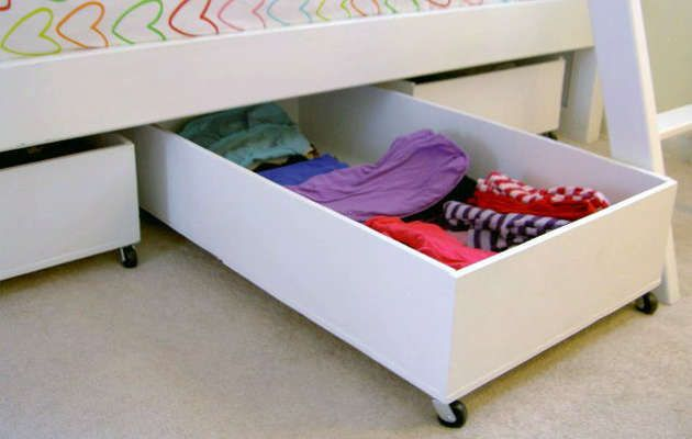 Best 25 under bed storage ideas on pinterest bed with - Dorm underbed storage ideas ...