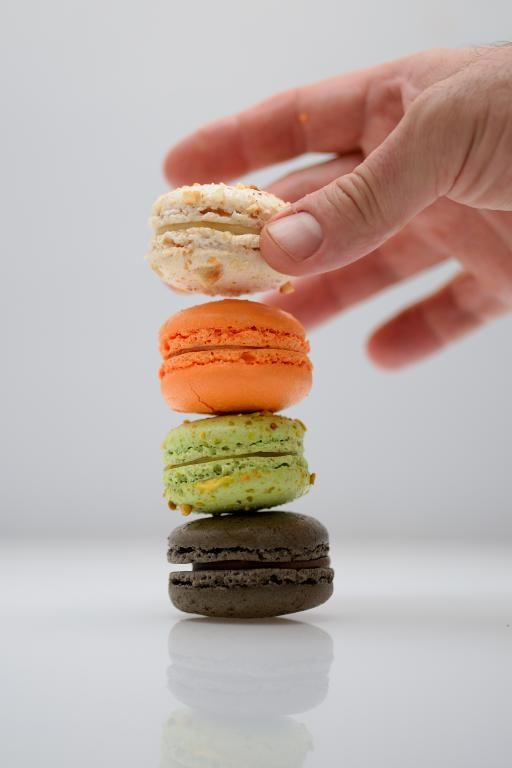 Macaron LUBΟ σε 4 μοναδικές γεύσεις που εκρήγνυνται στο στόμα!