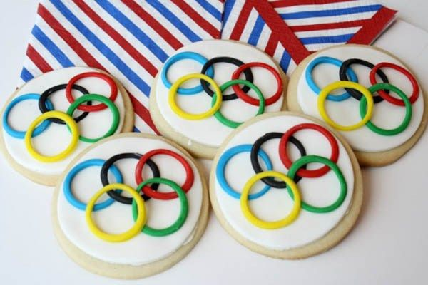 DIY Olympic Cookies