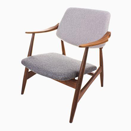 Mid-Century Vintage Sessel von Louis van Teeffelen für WéBé Jetzt bestellen unter: https://moebel.ladendirekt.de/kueche-und-esszimmer/stuehle-und-hocker/armlehnstuehle/?uid=fbd8ee26-3b87-50ed-86ba-4eaa11207345&utm_source=pinterest&utm_medium=pin&utm_campaign=boards #kueche #esszimmer #armlehnstuehle #hocker #stuehle