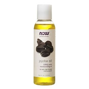 Jojoba Oil--which is  is remarkably similar to the natural sebum secreted by our own skin-- can be mixed into shampoos, liquid soap, or cosmetic oils to help nourish and moisturize: Hair Products, Castor Oil, Hairs, Favourite Oils, Natural Faces, Jojoba Oil, Cosmetics Oil, Natural Hair, Skin