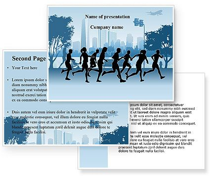 Movement is medicine for creating change in a person's physical, emotional and mental states.  ~Carol Welch    Download Jogging Theme powerpoint template (ppt) and power point background for Jogging Theme presentation. Nice abstract design template for  presentations on jogging, run, fitness, wellness, staying fit, sports, gym, athletics, healthy body, etc. http://www.poweredtemplate.com/08895/0/index.html