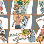 Il Benessere di coppia ed il significato delle posizioni durante il sonno