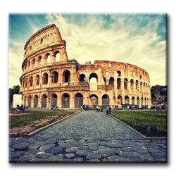 Lienzo Coliseo Romano