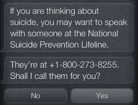 New Siri Update Offers Mental Health Resources When Users Express Suicidal Thoughts