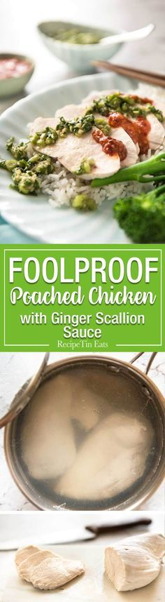 Extra juicy perfect Extra juicy perfect Poached Chicken Breast guaranteed to work every single time! This technique is so easy it will blow your mind. Served with a gorgeous Ginger Scallion (Shallot) Sauce. http://ift.tt/2wPWcKB; Recipe : http://ift.tt/1hGiZgA And @ItsNutella  http://ift.tt/2v8iUYW