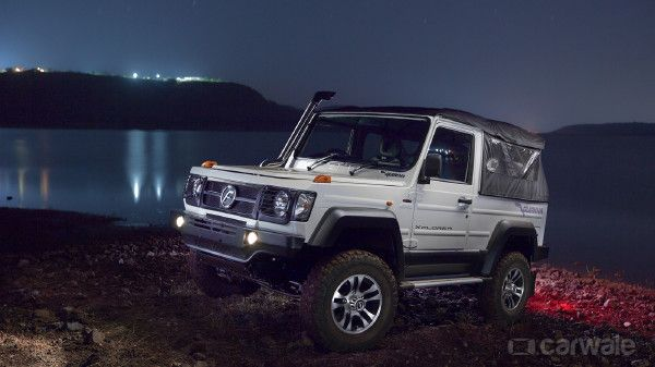 Force Gurkha Passenger Vehicle Jeep Cars Suv