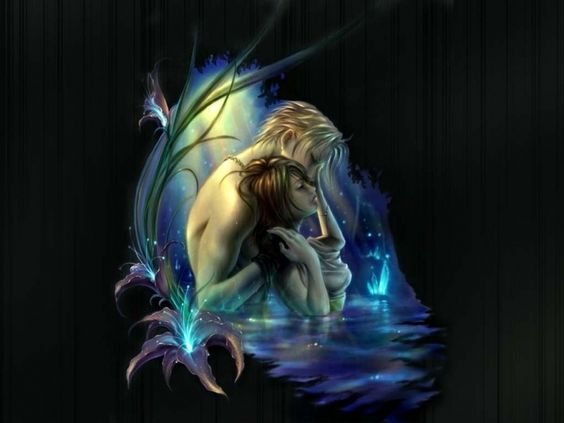 kiss fantasy couples romantic picture and wallpaper: