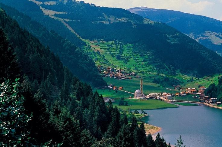 Turkey: Göl, Trabzon'un Çaykara ilçesine bağlı Uzungöl beldesi sınırları içinde.