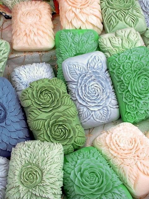 floral art — soaps #FlowerShop