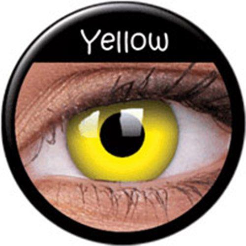 Lentilles Yellow jaunes Phantasee (annuelles) > JAPAN ATTITUDE - LENSCU024   Shop : www.japanattitude.fr