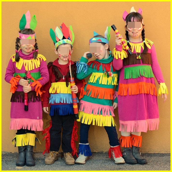 Piccoli bimbi crescono: Costumi di carnevale ed accessori da indiani