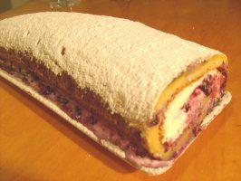 Finnish Jaakko's Dream Torte (Jaakon Unelmakaaretorttu) Cake Rol
