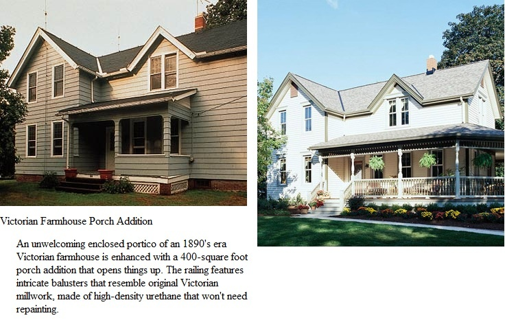 Before After Exteriors And Home Additions Porches