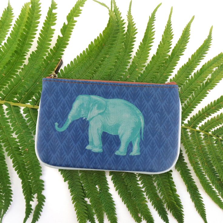 Elephant vegan leather small pouch by Mlavi Studio. Wholesale available at http://mlavi.com/mlavi-animal-themed-vegan-bag-wallet-and-accessories-wholesale.html #animal #vegan #wholesale #fashion #accessories #gift