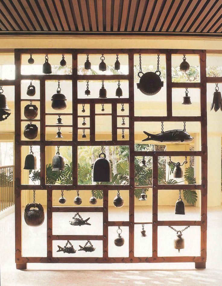 decorative screen - hawaii