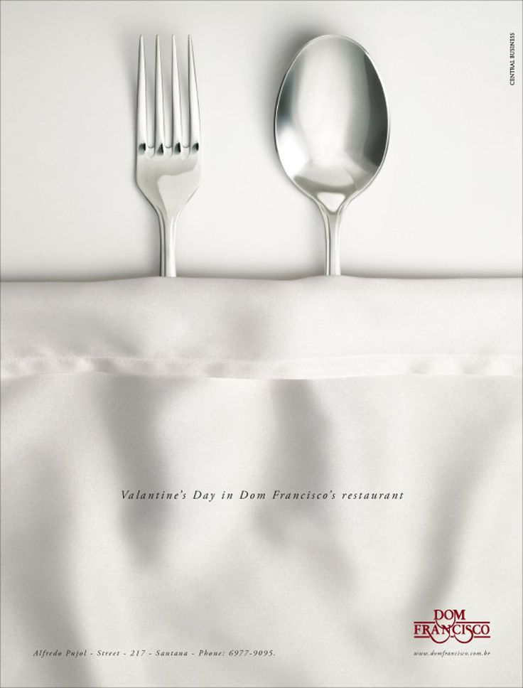 Print - Great idea for a restaurant on valentine's day