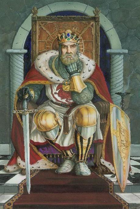 Князь на троне картинка