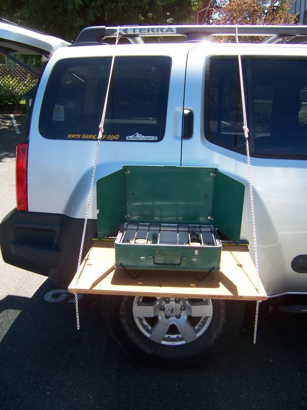 simple portable table for cooking - Second Generation Nissan Xterra Forums (2005+)