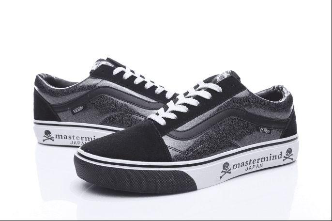 3d1b23053687 Vans Mastermind JAPAN Old Skool Classic Black White Womens Shoes  Vans