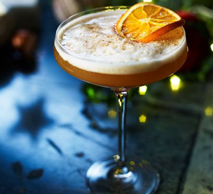 A modern version of the classic sour cocktail, this is the ultimate Christmas drink. Salted caramel and Icelandic vodka make an irresistible mix