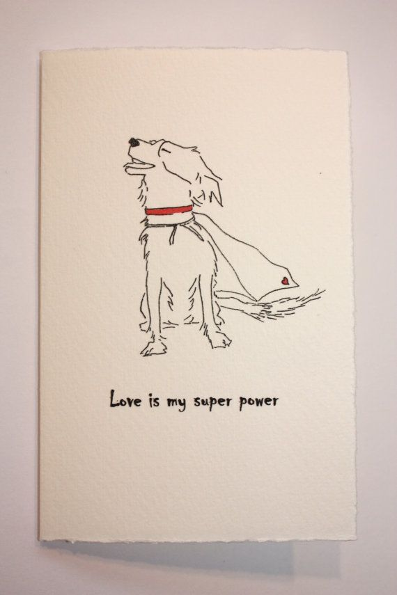 Border Collie Super Hero Line Drawing Blank | appledaledesigns | Etsy