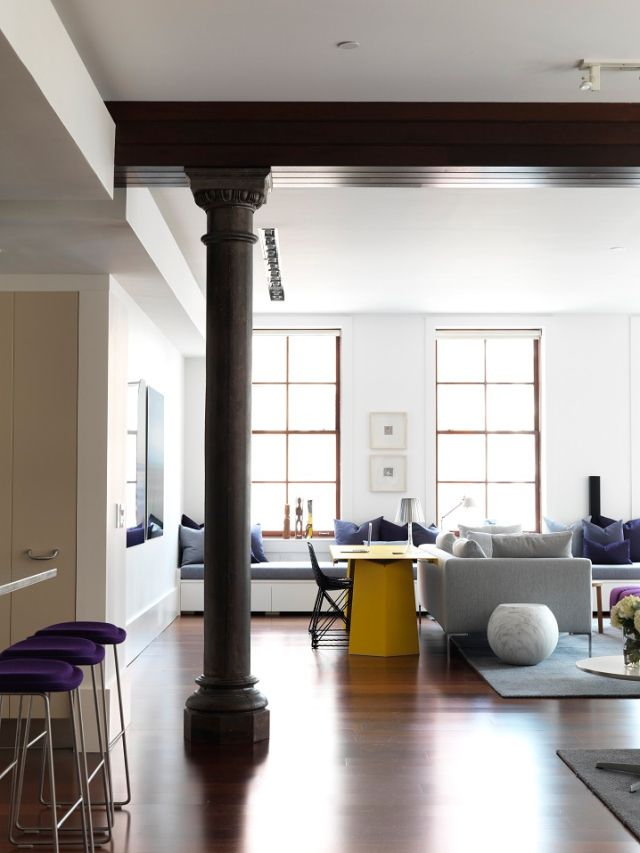 Interior Design Of Tribeca Loft NYC By Nexus Designs