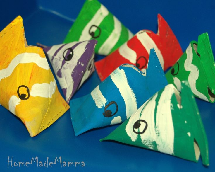toilet paper roll fishes...  I'm always looking for things to do with all those toilet paper rolls, lol!