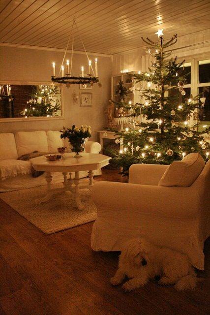 """""""I'll be home for Christmas..."""" ... VIBEKE DESIGN: Hvitt mot hvitt"""