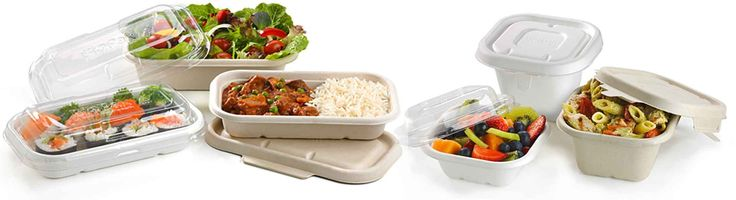 Go Green World -Biodegradable takeaway containers