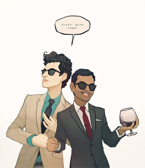 Jean-Ralphio. Tom Haverford. Does it get any better than Parks and Rec? Also, is it thursday yet?