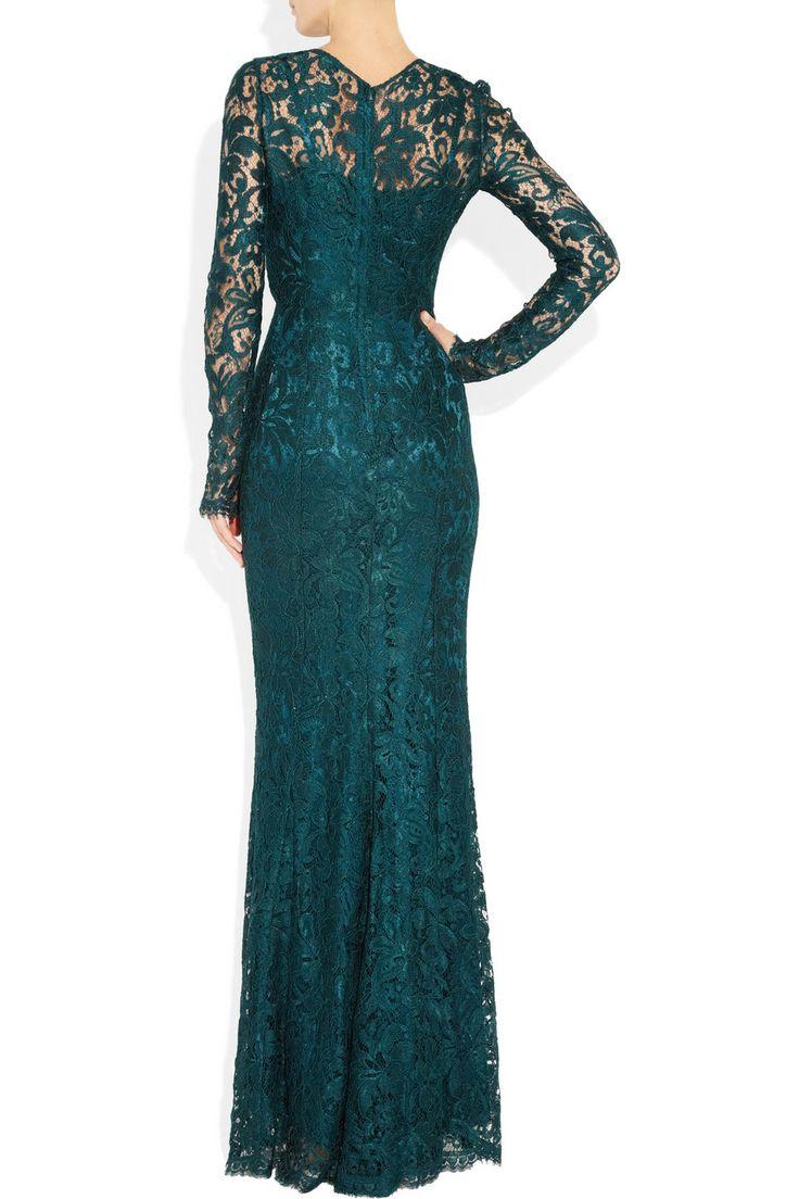 Dolce & Gabbana   Lace gown   NET-A-PORTER.COM