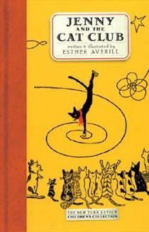 Bog, hardback Jenny and the Cat Club af Esther Averill