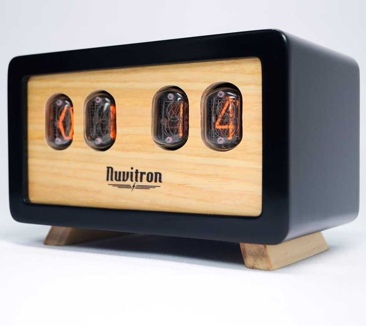 This retro styled tube clock is made using actual nixie tubes that were prevalent during the Cold War Era and are guaranteed to be at least 30 years old. Each clock is handmade and handcrafted with a ...