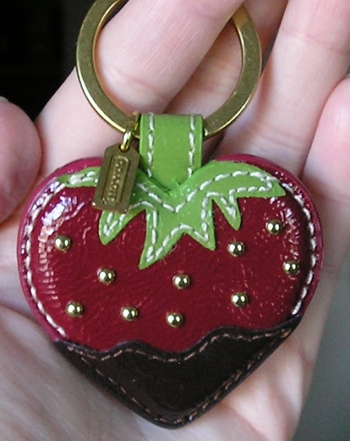 Coach - Chocolate Dipped Strawberry Fob