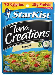 Buy again. StarKist Tuna Creations® Ranch