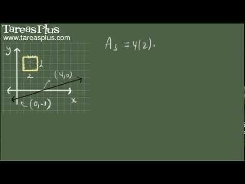 Área de una superficie de revolución (teorema de pappus) ejemplo 1