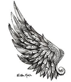 Resultado de imagen de wing tattoo arm