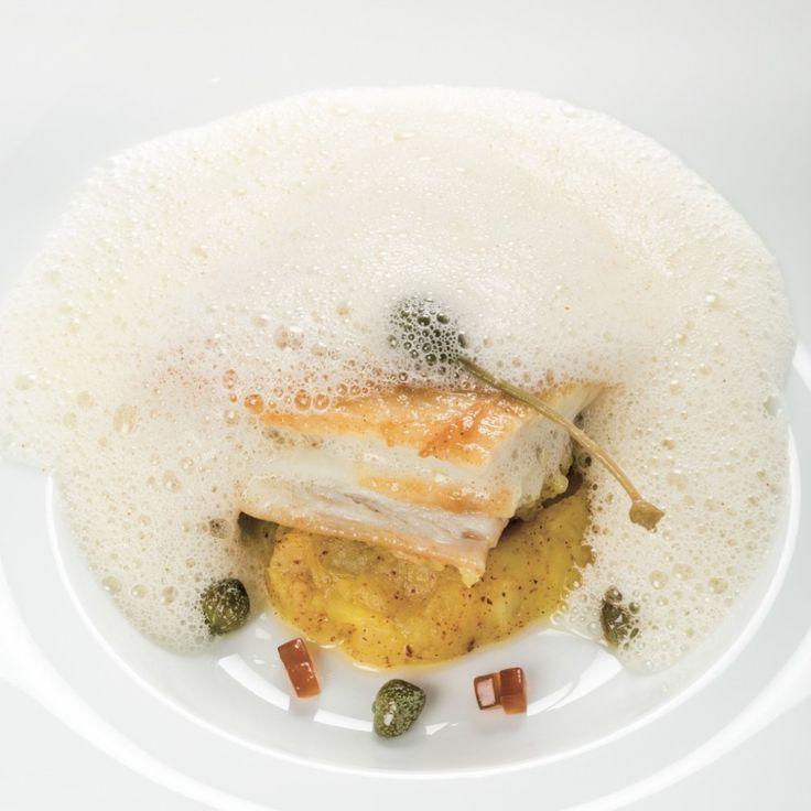 AILE DE RAIE bouclée, écrasé de ratte, beurre noisette mousseux, Recette réalisée par Jean-Georges Klein