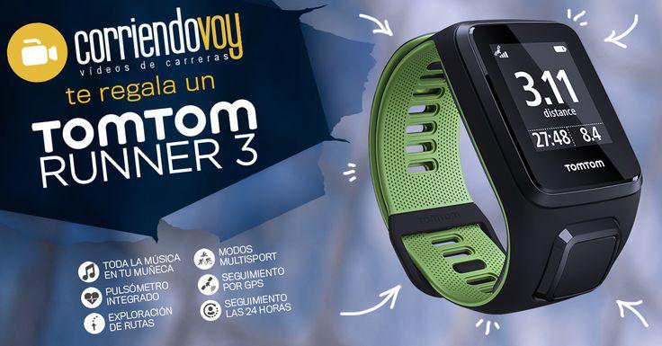Corriendovoy te regala el nuevo Tomtom Adventurer, creado para deportes al aire libre. Valorado en 299€.