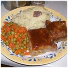 A spicy mix of ground turkey, chicken, and pork sausage makes for a great tasting meatloaf. Cover the meatloaf with cooked bacon slices before glazing if you like a smokier flavor.: Turkey Meatloaf, All White, Da Meat, Meatloaf Allrecipes Com, White Meat, Meat Meatloaf, Meatloaf Allrecipescom, Breakfast Bites, Meatloaf Recipes