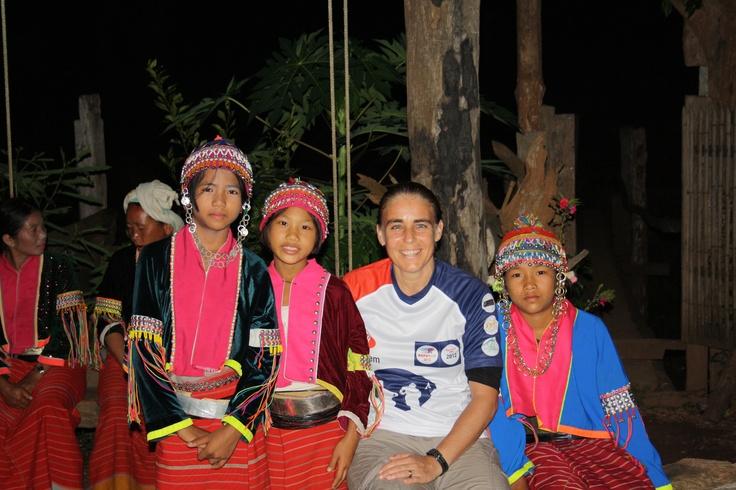 Marjorie de Heer uit team 60 in Noord Thailand