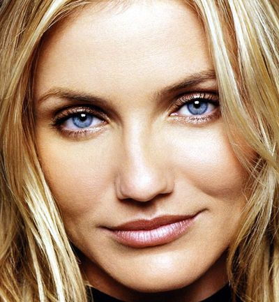 Cameron Diaz. Her mouth is a little bigger than necessary but she's beautiful