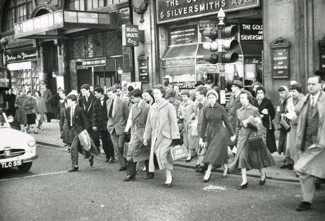 Oxford Circus, 1962.