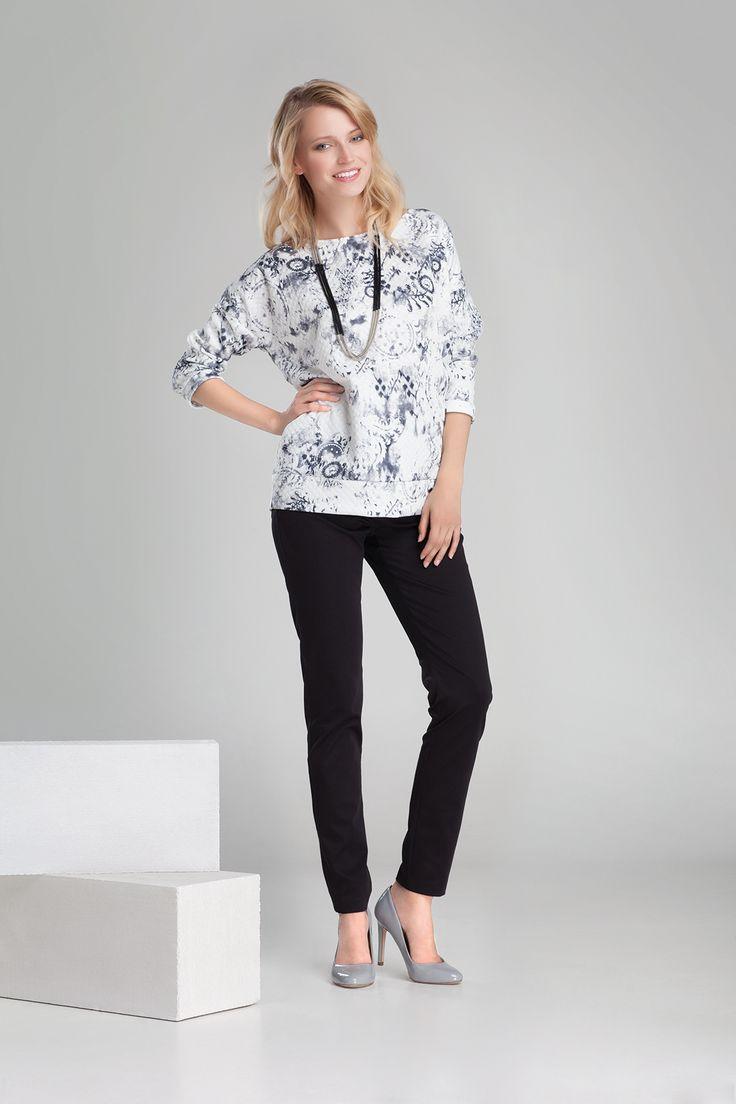 Nowa kolekcja #danhen #jesienzima2014 #fw2014 #fashion #sportchic #sport #blouse #gray