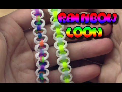 Плетение необычного и оригинального браслета из резинок Rainbow Loom - YouTube