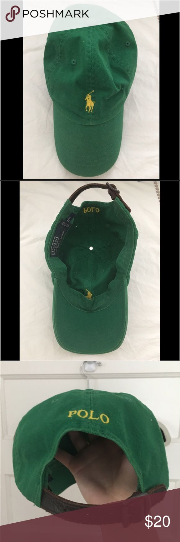 Ralph Lauren Polo hat - green This polo hat is comfortable and vibrant while also maintaining the classic RL look. Polo by Ralph Lauren Accessories Hats