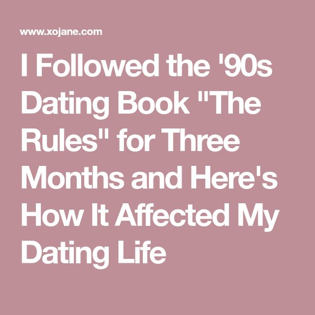 24 hour rule dating