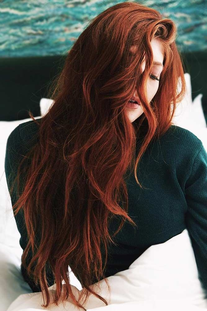 Deep Auburn With Ginger Hues Redhair Ginger Hair Color Hair Color Auburn Dark Red Hair