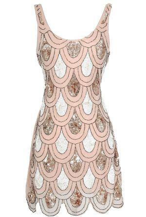 West Egg Sequin Designer Dress